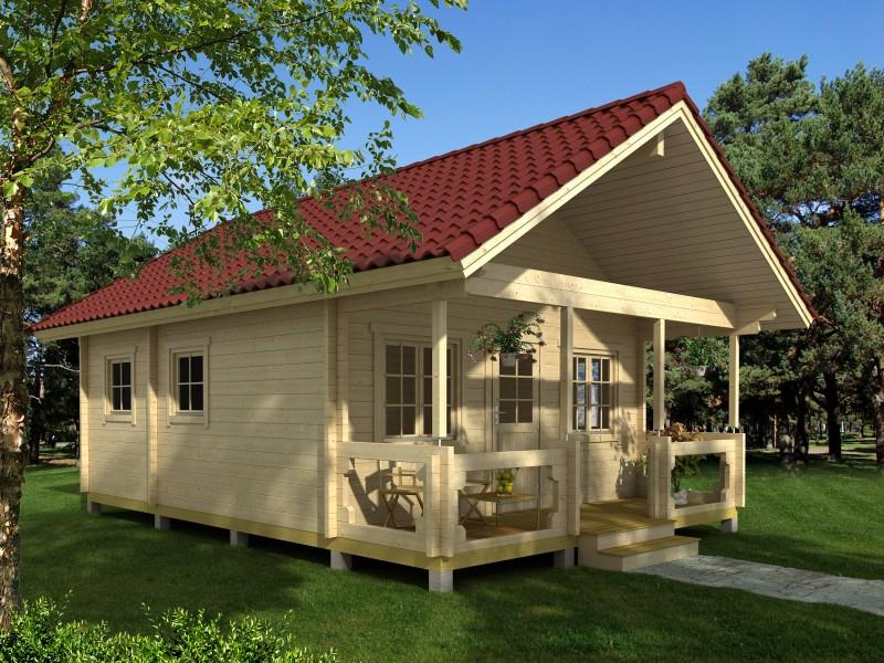 Canada hytte under 50 m2