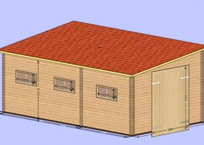 500x900 garasje m325cm port